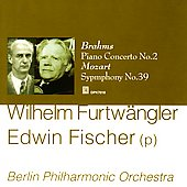 Wilhelm Furtw&#228;ngler conducts Brahms and Mozart