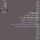 Beethoven: Piano Conerto no 2 / Beissel, Lazic, et al