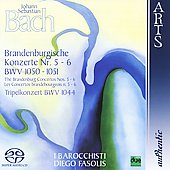 Bach: Brandenburg Concertos 5-6, etc / Fasolis, et al