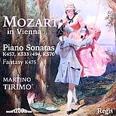 Mozart in Vienna - Piano Sonatas, Fantasy / Tirimo