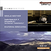 Piano Rarities - Nikolai Medtner / Ekaterina Derzhavina