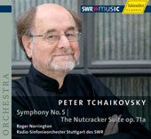Tchaikovsky: Symphony no 5, Op. 64, Nutcracker Suite / Norrington, Stuttgart Radio SO
