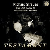 The Last Concerts - Richard Strauss / Strauss, Blumen, Philharmonia Orchestra, BBC SO
