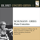 Concerto Edition Vol 1 - Schumann, Grieg / Idil Biret, et al