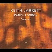Keith Jarrett: Paris/London (Testament) [Slipcase]