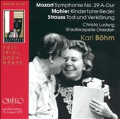 Karl B&#246;hm Conducts Mozart, Mahler, Strauss