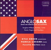 AngloSax: British & American Music for Saxophone