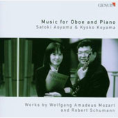 Music for Oboe and Piano: Works by Mozart and Schumann / Satoki Aoyama, oboe; Kyoko Koyama, piano