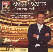 Andre Watts at Carnegie Hall
