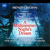 Mendelssohn: Midsummer Night's Dream / James Judd