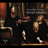 Mozart: Quartet no 19; Schubert: Quartet no 13 / Chiaroscuro Quartet