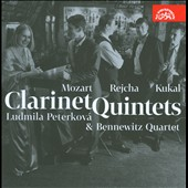 Mozart, Rejcha, Kukal: Clarinet Quintets / Ludmila Peterkova, clarinet