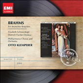 Brahms: Ein Deutsches Requiem / Schwarzkopf, Fischer-Dieskau