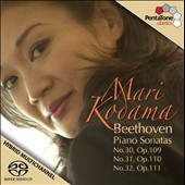 Beethoven: Piano Sonatas Nos. 30 - 32 / Mari Kodama