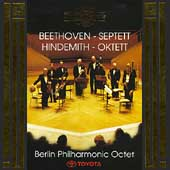 Beethoven: Septett;  Hindemith: Oktett / Berlin Philharmonic
