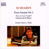 Scriabin: Piano Sonatas Vol 1 / Glemser