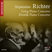 Grieg and Dvor&#225;k: Piano Concertos / Sviatoslav Richter, piano - Kondrashin, Smetacek