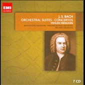 Bach: Orchestral Works - Suites; Brandenburg Concertos; Keyboard Concertos; Violin Concertos / Yehudi Menuhin [7 CDs]