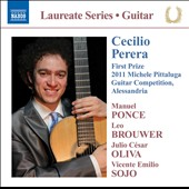 Pittaluga Guitar Competition winner Cecilio Perera - works by Ponce, Brouwer, Oliva and Sojo