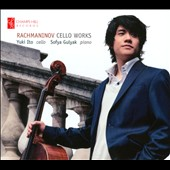 Rachmaninov: Cello Works - Sonata for Cello in G Minor; Two Pieces, Op. 2 / Yuki Ito, cello; Sofya Gulyak, piano