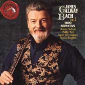 Bach: Trio Sonatas Vol 2 / James Galway, Phillip Moll, etc