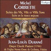 Michel Corrette: Suites for organ performed on the organ of the Church of Notre Dame in Guibray / Jean-Louis Durrand, organ