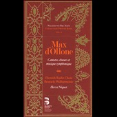 Max D'Ollone: Cantatas, Choirs & Symphonic Music [Includes Book] / Flemish Radio Choir