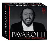 Pavarotti: The Superstar - Includes Neapolitan Songs; Bel Canto; Love Songs [5 CD]