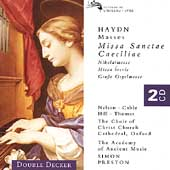 Haydn: Masses / Simon Preston, Christ Church Choir, et al