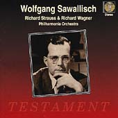 R. Strauss, Wagner / Wolfgang Sawallisch, Philharmonia