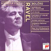 Bernstein Century - Ravel: Bol&#233;ro, La Valse, Alborada