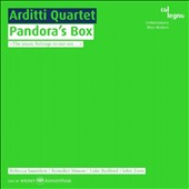 Pandora's Box: Contemporary Works for String Quartet by John Zorn, Rebecca Saunders, Benedict Mason and Luke Bedford / Arditti Quartet
