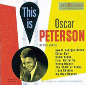 Oscar Peterson: This Is Oscar Peterson
