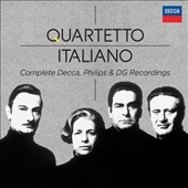 Quartetto Italiano: Complete Decca, Philips & DG Recordings - the complete Mozart, Beethoven & Brahms cycles plus Haydn, Ravel, Debussy, Webern, Dvorak & more / with Maurizio Pollini [37 CDs]