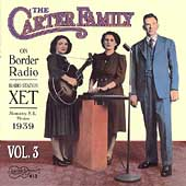 The Carter Family: On Border Radio, Vol. 3: 1939