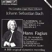 Bach: The Complete Organ Music Vol 8 / Hans Fagius