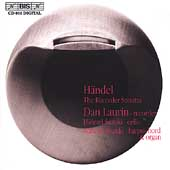 Handel: Recorder Sonatas / Dan Laurin, H. & M. Suzuki