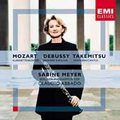 Mozart, Debussy, Takemitsu / Meyer, Abbado, Berlin PO