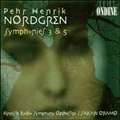 Nordgren: Symphonies no 3 & 5 / Oramo, Finnish Radio SO