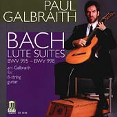 Bach: Lute Suites BWV 995-998 / Paul Galbraith