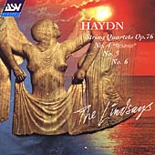 Haydn: String Quartets Op 76 no 4,5, & 6 / The Lindsays