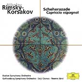 Eloquence - Rimsky-Korsakov: Scheherezade, etc /J&#228;rvi, Ozawa