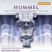 Hummel: Masses Op 111 & Op 77, Alma Virgo / Hickox, Gritton