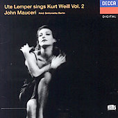 Ute Lemper Sings Kurt Weill, Vol. 2