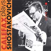 SCENE  Calefax Plays Shostakovich: Preludes and Fugues