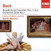 Bach: Brandenburg Concertos no 5 & 6, etc / Marriner, ASMF