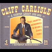Cliff Carlisle: A Country Legacy: 1930-1939 [Box]