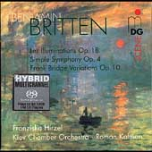 Britten: Les Illuminations, etc / Kofman, Hirzel, et al