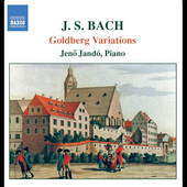 Bach: Goldberg Variations / Jen&ouml; Jand&oacute;