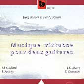 Musique virtuose pour deux guitares / Moser, Rahm